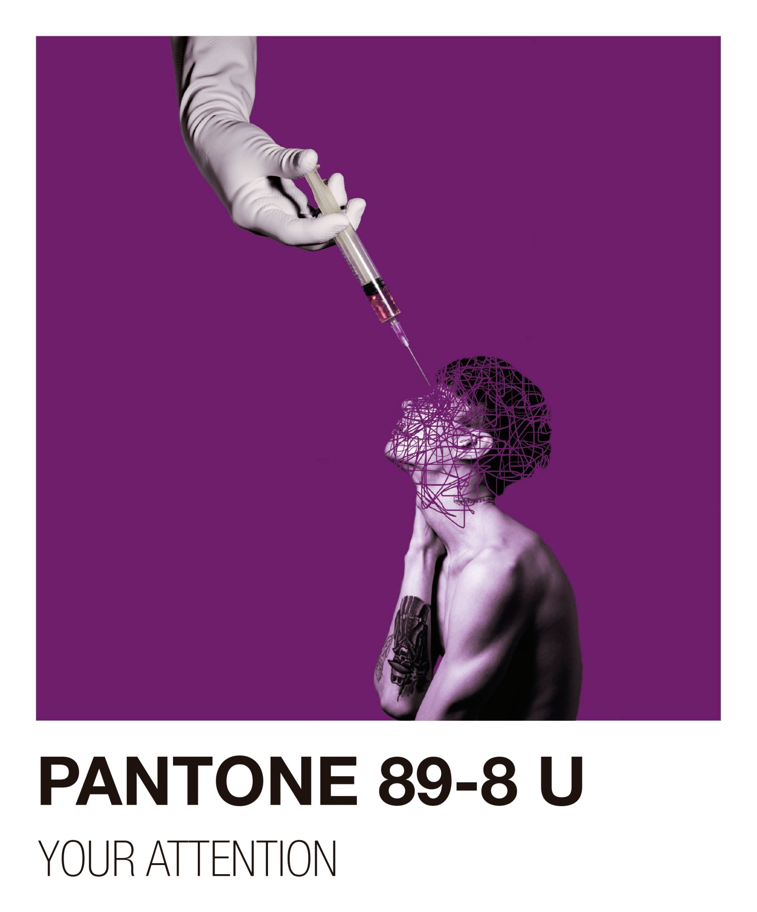 PANTONE: YOUR ATTENTION - Abstract Photography