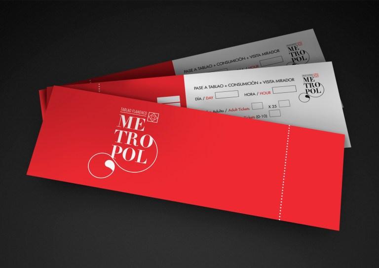 Poster Design - Tablao Flamenco Metropol - David Guillén
