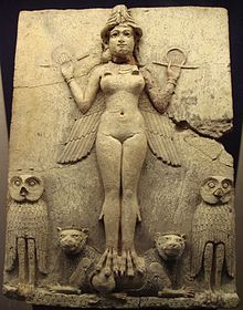 """Ishtar, Esther, Burney Relief, """"Queen of the Night"""""""