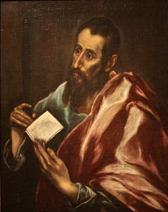Saint Paul, according to El Greco (ca. 1605)