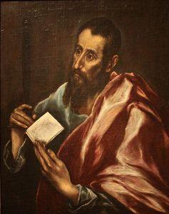 Saint Paul, according to El Greco (ca. 1605)