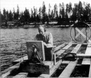 "1946: the Swedish military hunts for the remains of a ""ghost rocket"" said to have plunged into Lake Kolmjarv, as happened 34 years later at Lake Nammajaure. ""The search,"" says Jerome Clark in The UFO Encyclopedia, ""was hampered by deep mud on the lake bottom."""