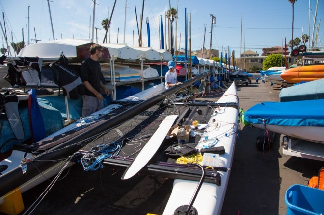 Getting Ready for F18 World Championships
