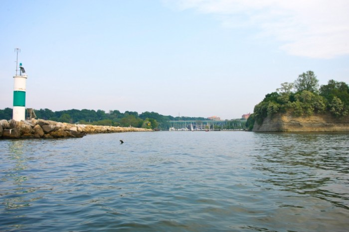 Mouth of Rocky River