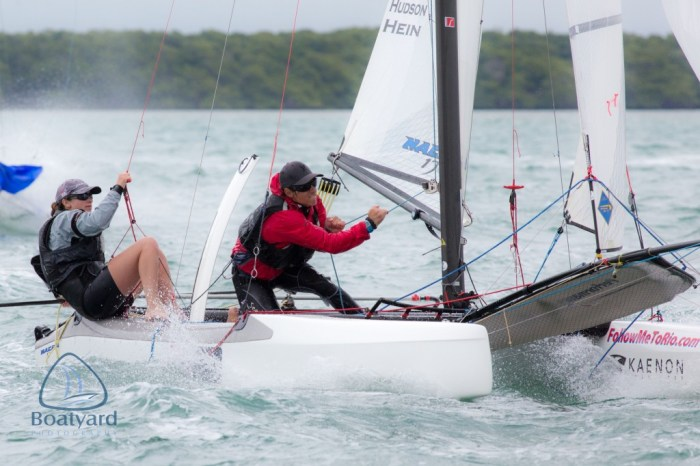 It Takes A Village to sail an olympic campaign