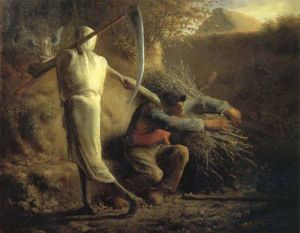 Jean Francois Millet Death and the Woodcutter