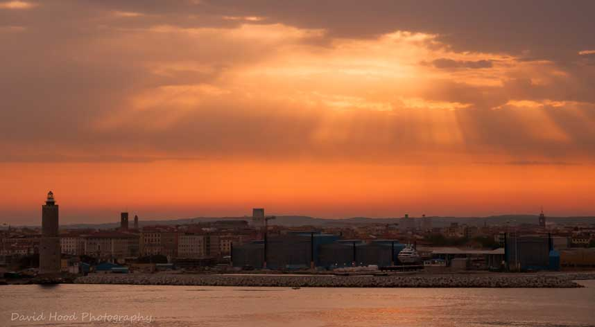 Port of Venice Sunset