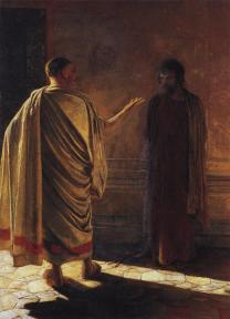 The Kingdoms of God and Pilate