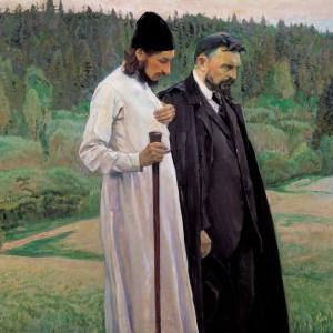 Florensky & Bulgakov (via Wikimedia Commons)