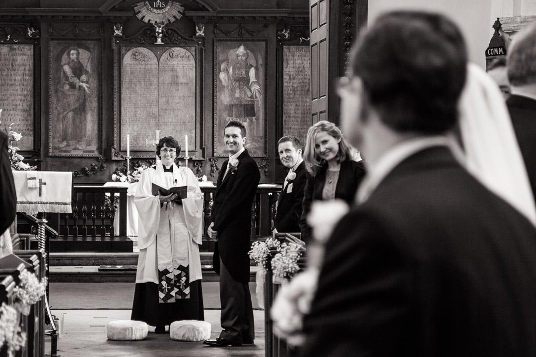 St Marys Church Shotley Suffolk Wedding Photographer