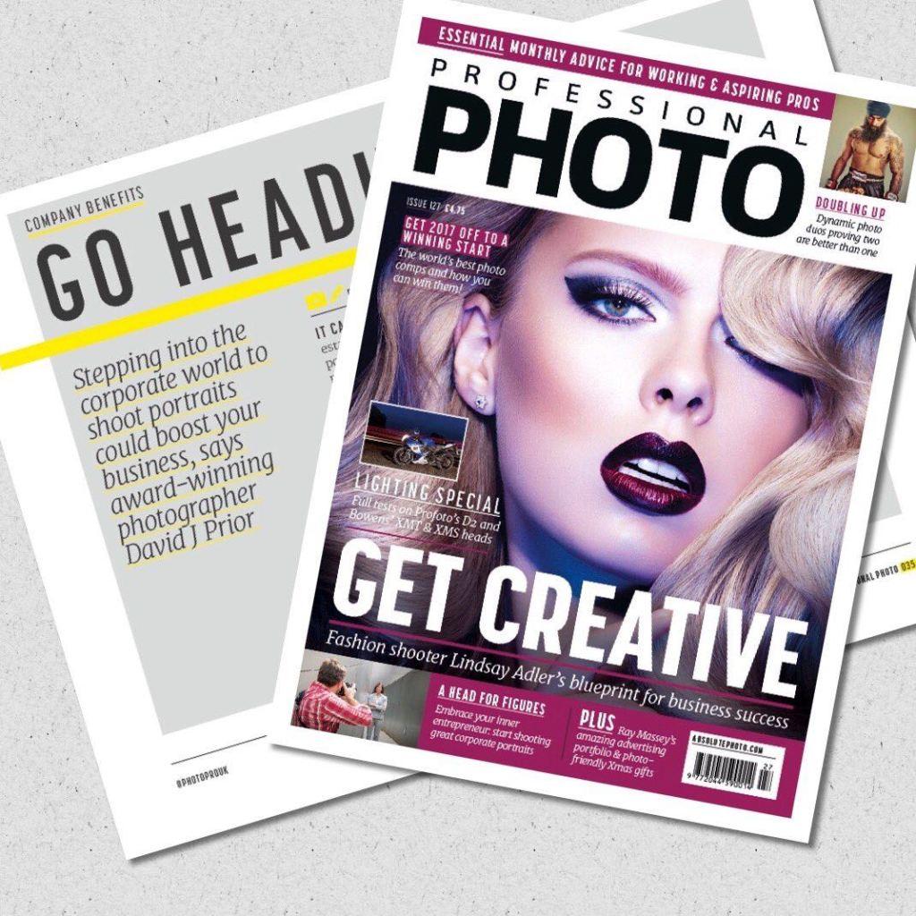 Corporate Headshot Photographer Magazine