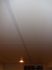Half a ceiling is better than no ceiling