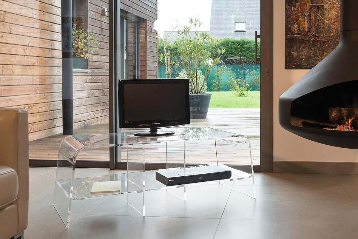 meuble tv bas pour ecran plat et