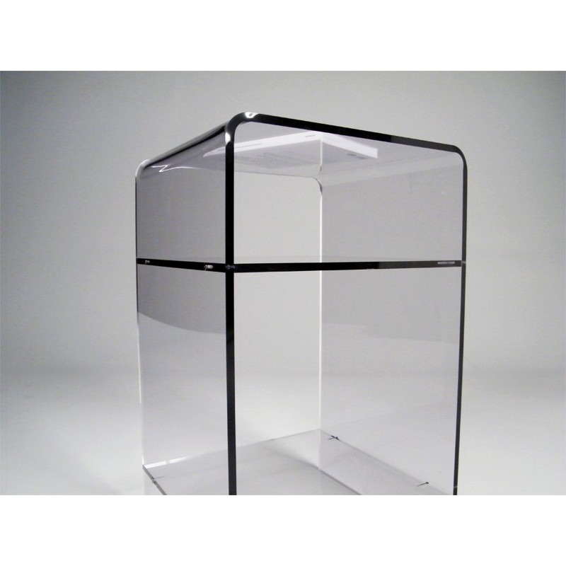meuble plexiglas transparent d appoint