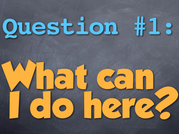 Three Questions every webpage should answer, #1: What can ...