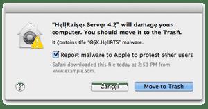 Hellraiser warning