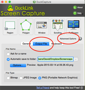 DuckLink Options