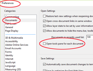 Adobe Acrobat Reader Preferences