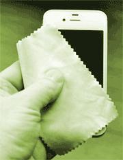 iPhone polishing