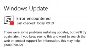 Windows 10 Updates Turned Off