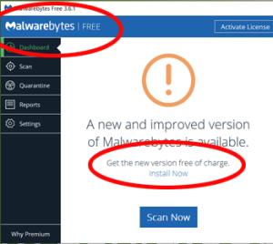 Malwarebytes Figure 1