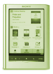 Sony e-reader Pocket Edition