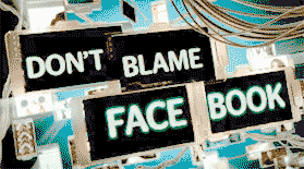 Screen grab from Don't Blame Facebook
