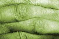 Interlocked fingers