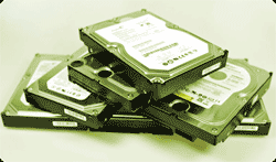 Pile of Hard Drives