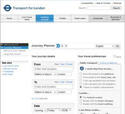 TfL Journey Planner Without Ads