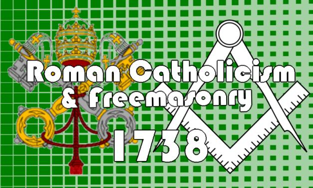 On Catholicism and Freemasonry in 1738