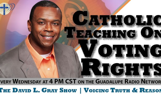 Voicing Truth and Reason – Episode 12 (The Catholic Teaching on Voting Integrity Laws)