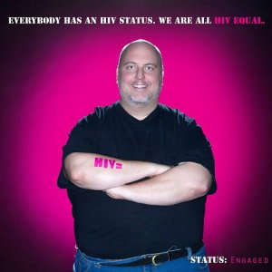 David Mariner HIV Equal Campaign