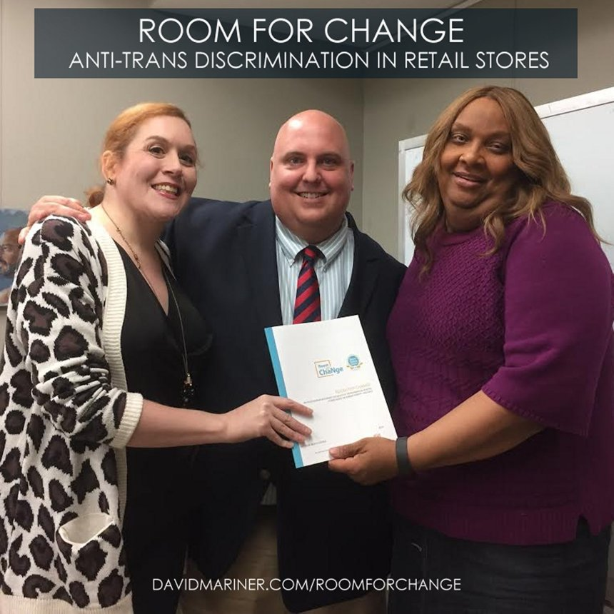 Room for Change: Understanding Discrimination against the Transgender Community in Retail Spaces