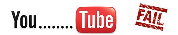 Fallo en youtube