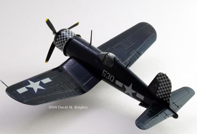 F4U-1D Side view