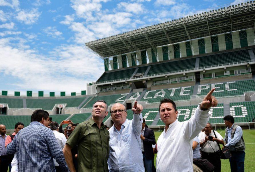Presentan oficialmente al nuevo Zacatepec