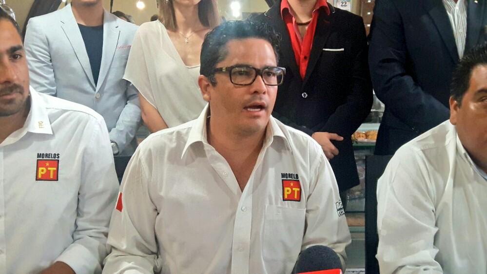 Demédisis intenta apoderarse de candidatura del PT-Morelos, denuncian