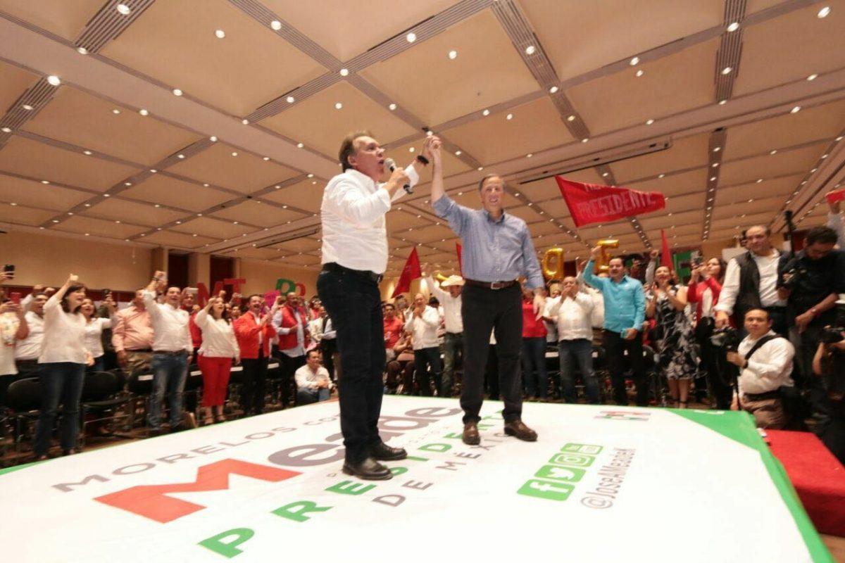 Son ya siete candidatos al gobierno de Morelos