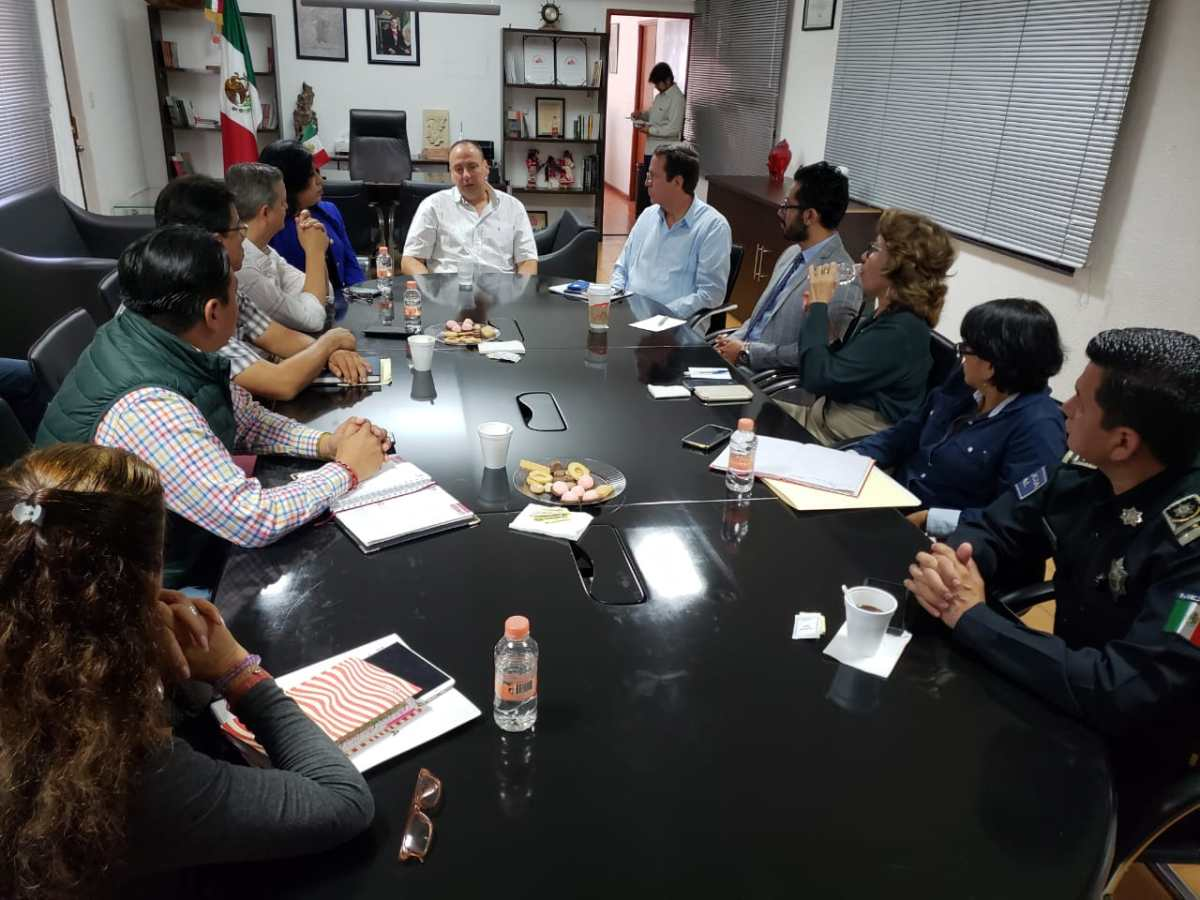 Pide alcalde de Cuernavaca a su gabinete redoblar esfuerzos a favor de los ciudadanos