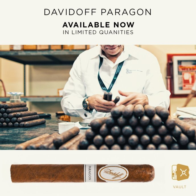 Davidoff Vault Paragon Limited Edition Cigar Availalbe Now