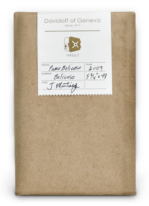 Davidoff Cigars Puro Belicoso Cigar Box