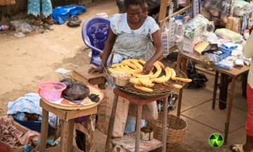 "The magic of Twenty Naira and an elderly Nigerian ""boli"" seller"