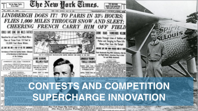 Lindbergh's Lesson: Contests and Competition Supercharge Innovation