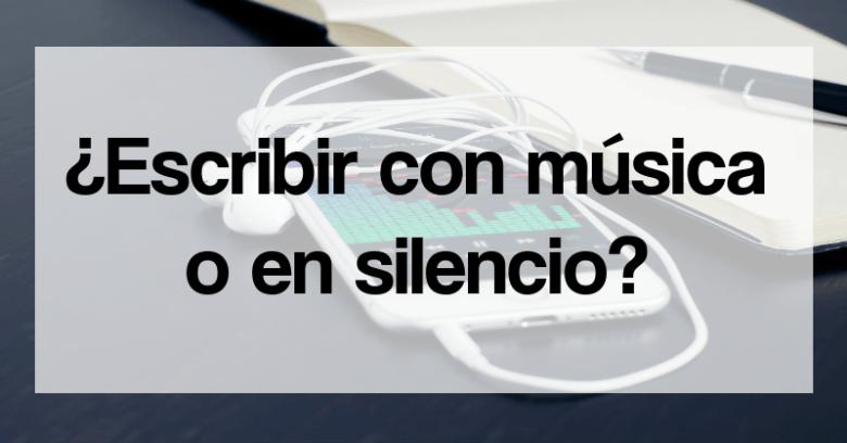 escribir música silencio