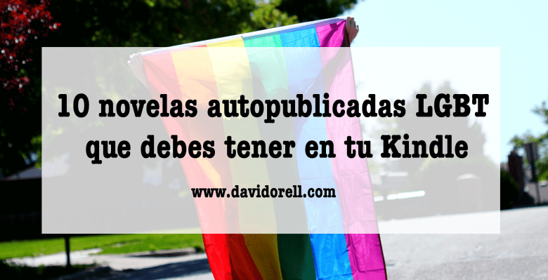 10 novelas autopublicadas LGBT Kindle