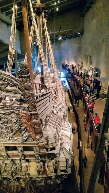 Vasa ship in Stockholm, Sweden