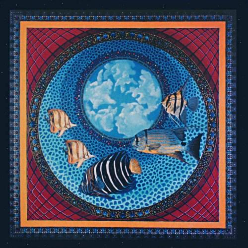 Pecera cósmica, 1999. Acrílico sobre lienzo