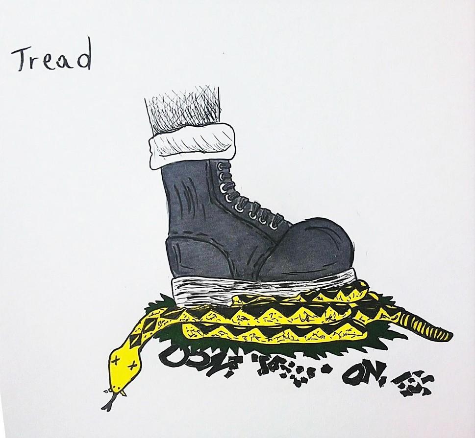 Tread (Inktober 2019 – Tread)