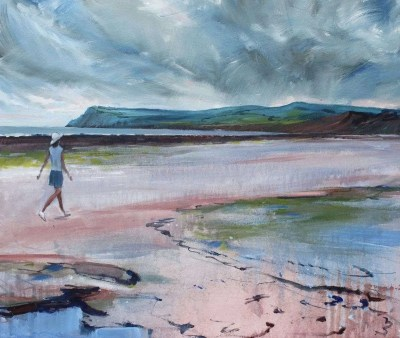 Painting of Robin Hoods Bay